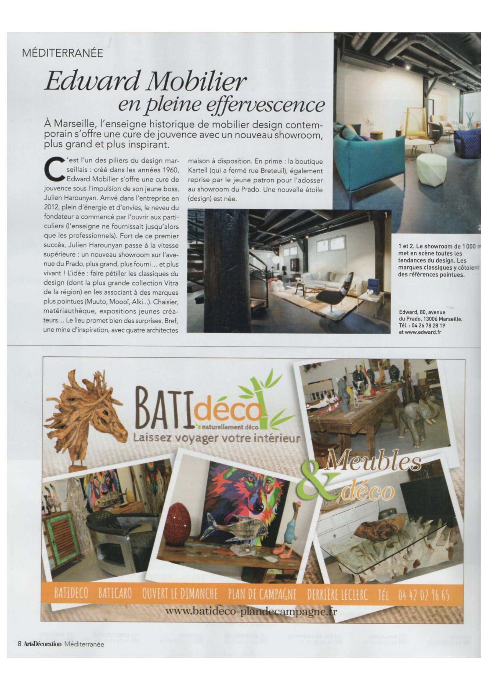 Magazine Art Et Décoration art et décoration magazine à propos des nouveautés edward